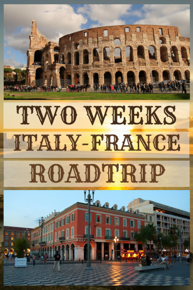 2 Weeks Italy France Itinerary #2 weeks Italy France #Italy #France #itinerary