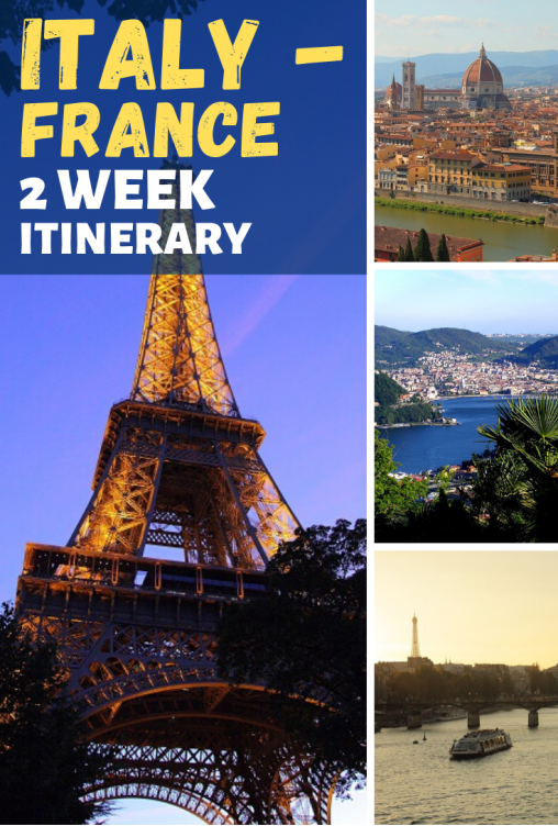 2 week italy france itinerary