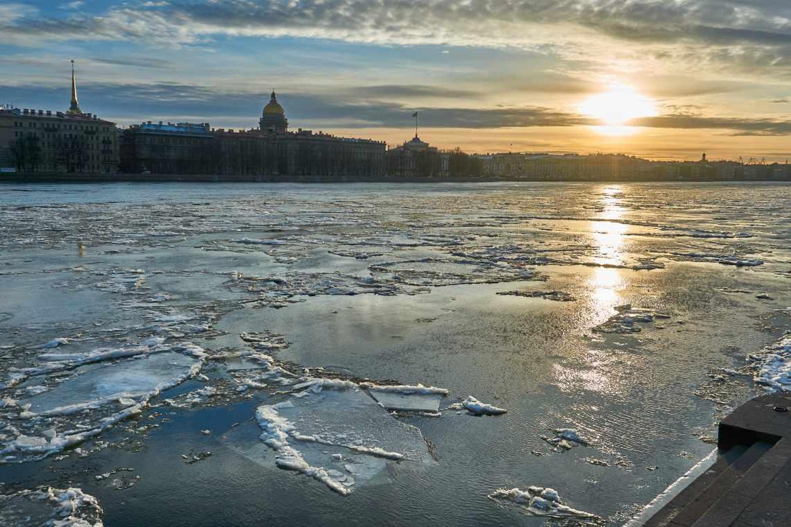 Saint Petersburg Russia in November