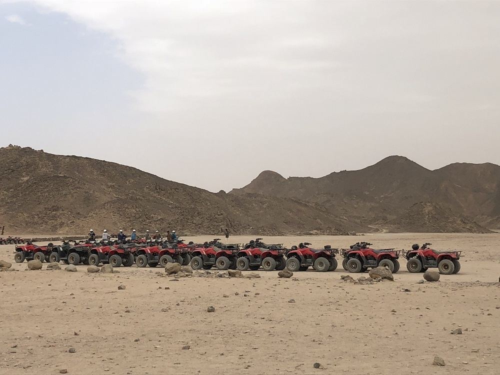 Hurghada quad safari
