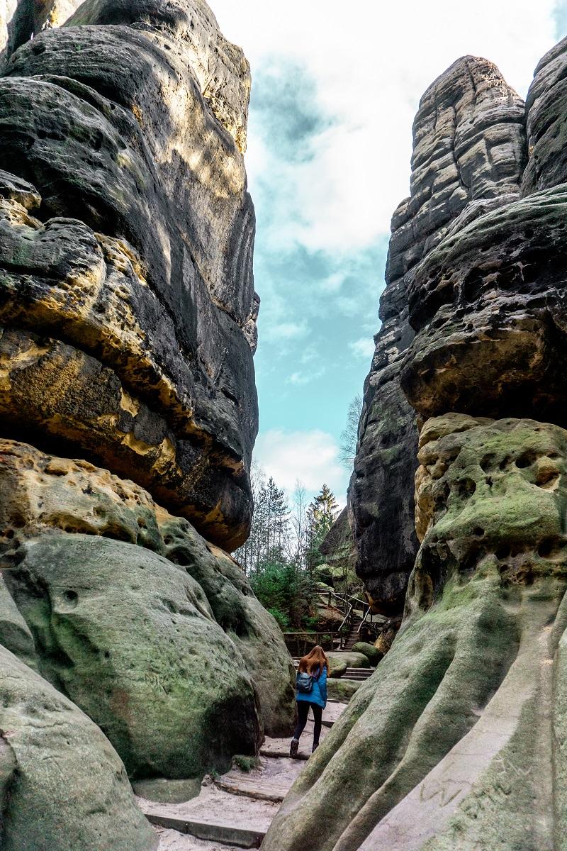 Saxon Switzerland National Park rocks