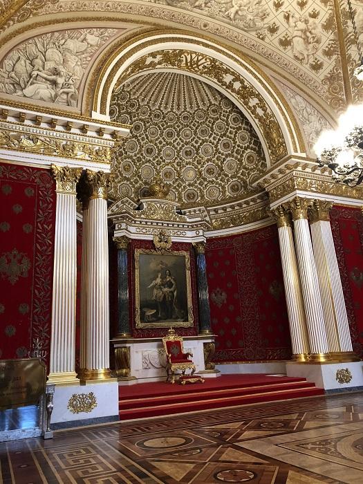 Hermitage State Museum in Saint Petersburg 1
