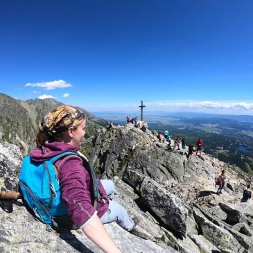 Hiking Predne Solisko from Strbske Pleso Slovakia