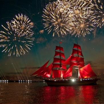 How to visit Scarlet Sails in Saint Petersburg Russia