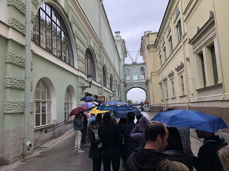 online tickets to Hermitage State Museum in Saint Petersburg