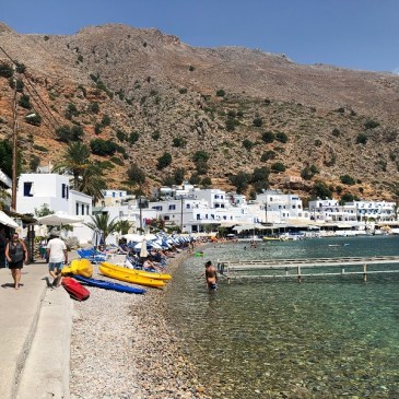 Crete by car: Loutro snorkeling day trip