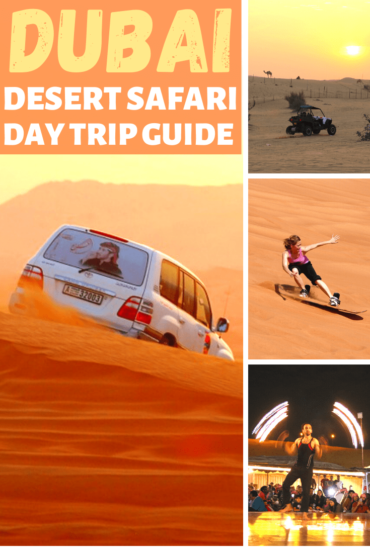 Dubai Desert safari day trip guide