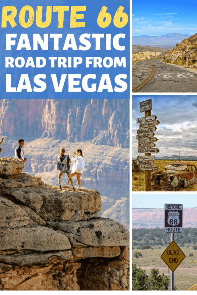 Route 66 Las Vegas to Grand Canyon 2 day itinerary