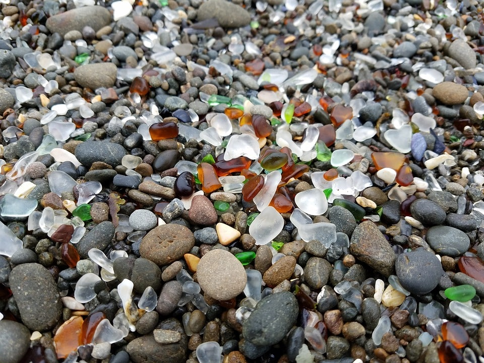 Seattle to San Francisco road trip - glass beach