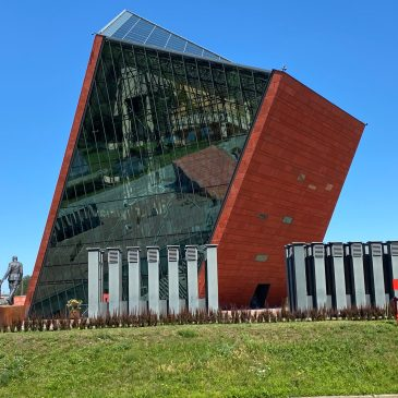 Visiting Museum of the Second World War in Gdansk Poland