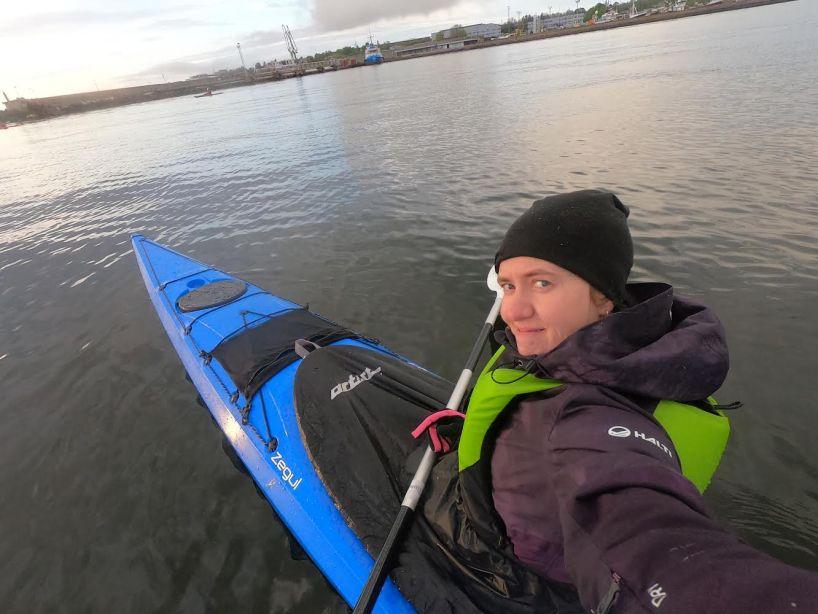 Water sports in Tallinn Estonia kayaking