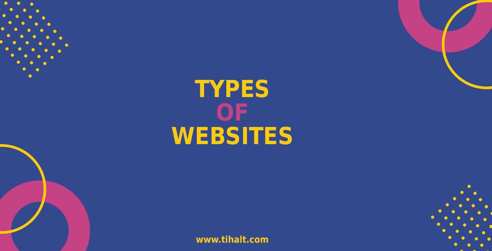 types of websites