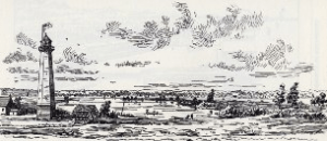 Gibraltar Point Lighthouse from Chapter 203 of Robertson's Landmarks of Toronto by J. Ross Robertson, Toronto