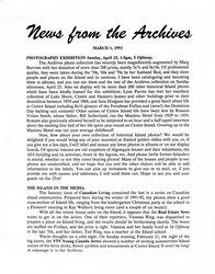 News from the Archives v02-1