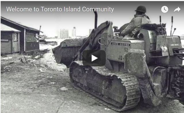 Welcome to Toronto Island Community circa 2014