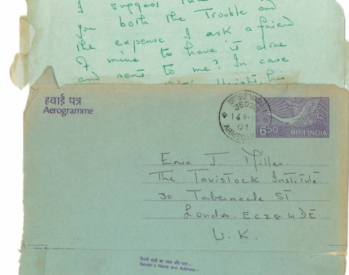 anthropological archive letter