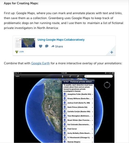 Storify Map apps