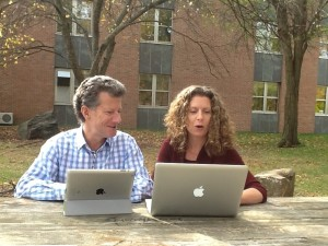 John Downes and Penny Bishop lead the Tarrant Institute for Innovative Education at UVM.