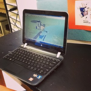 This student, inspired by a trip to Winooski Mill, replicated a water mill in Google Sketch-Up as part of a lesson plan he created for others wanting to learn Sketch-Up.