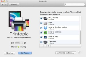 Painless printing from your iPad