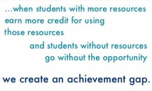 Alex Shevrin: is extra credit an equity issue?