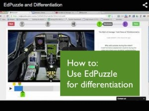 how to use EdPuzzle for differentiation