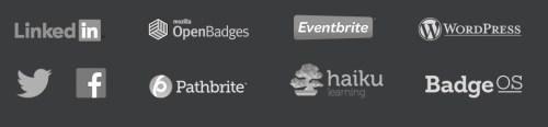 storing digital badges