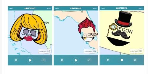 ways to use Chatterpix with maps
