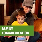 family communication around education, social media and digital citizenship