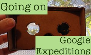 going on google expeditions
