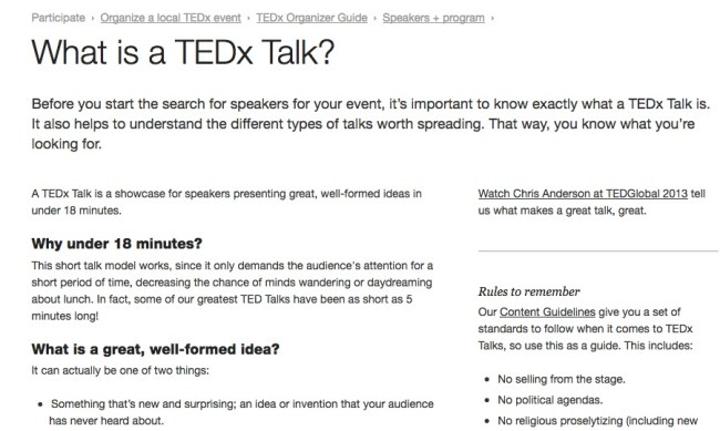student TED Talks