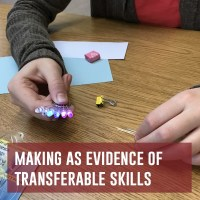 making as evidence of transferable skills