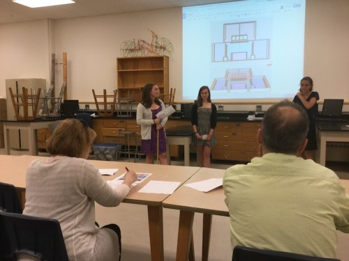 the student architects of Shelburne VT