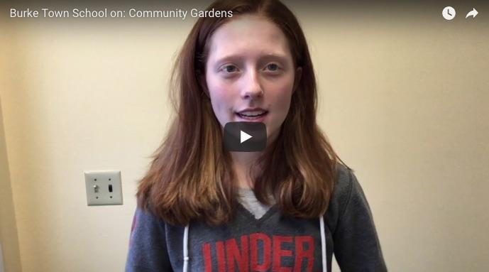 Burke Town School community gardens