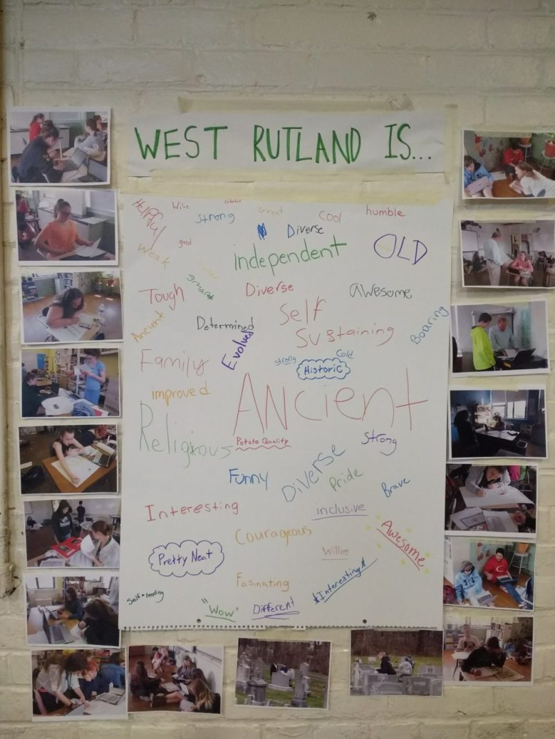 who are we as west rutland