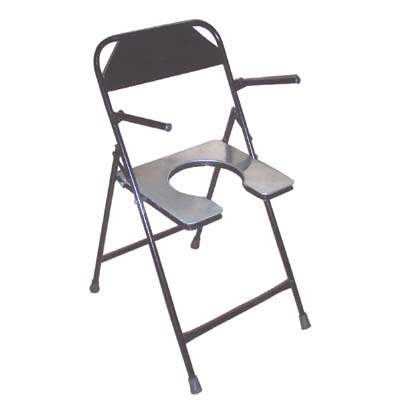 folding chair in rajkot orange slice commode shubh surgical s millpara main road street no 3