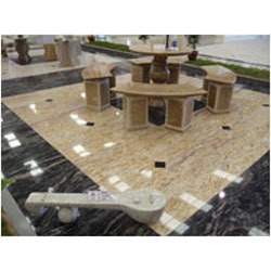 Silver Sparkle Granite Flooring in Madurai Tamil Nadu