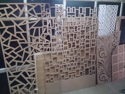 Designer Partitions  Wooden Jali  3D Wall Panels in New