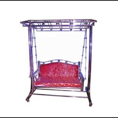 Steel Chair Jhula Chairs For Weddings Manufacturer Of Stainless Furniture From Ahmedabad By Shree Ss