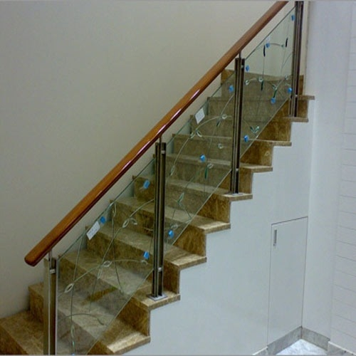 Staircase Glass Railing At Best Price In Pune Maharashtra Shree   Glass Railing For Stairs Price   Railing Systems   Cable Railing   Alibaba   China   Wood