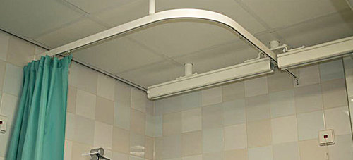 hospital curtain track at best price in