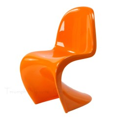Panton S Chair Black Outdoor Chairs Verner In Shenzhen Guangdong Kaixinfeng