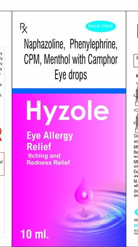 Manufacturer of Eye & Ear Drops from Varanasi by Hiqua Vision