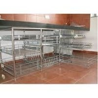 kitchen trolley under cabinet lighting options trolleys in surat dealers traders stainless steel