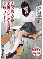 天使の様な奇跡の美脚スレンダー制服JKと学校でハメまくる!! 佐々木美南
