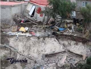 CON DRON MUNICIPIO SOBREVOLARA ZONA DE DESASTRE EN COLONIA 3 DE OCTUBRE..1