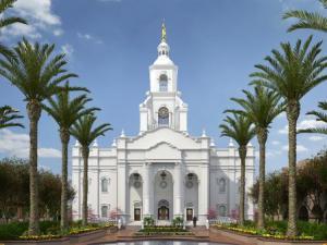 Templo Mormon en Tijuana