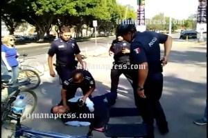 denuncias vs policias no son  ratificadas