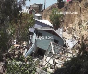derrumbe de casas