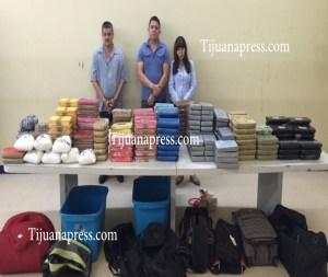 detenidos con 197 kilos de diferentes drogas